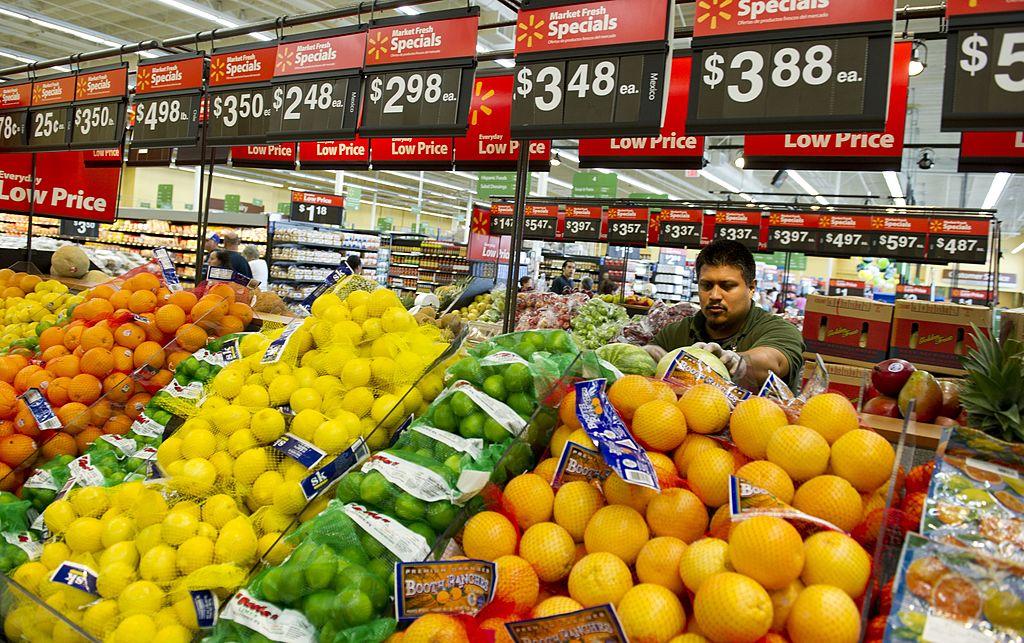 Lemons, limes, and oranges at Walmart