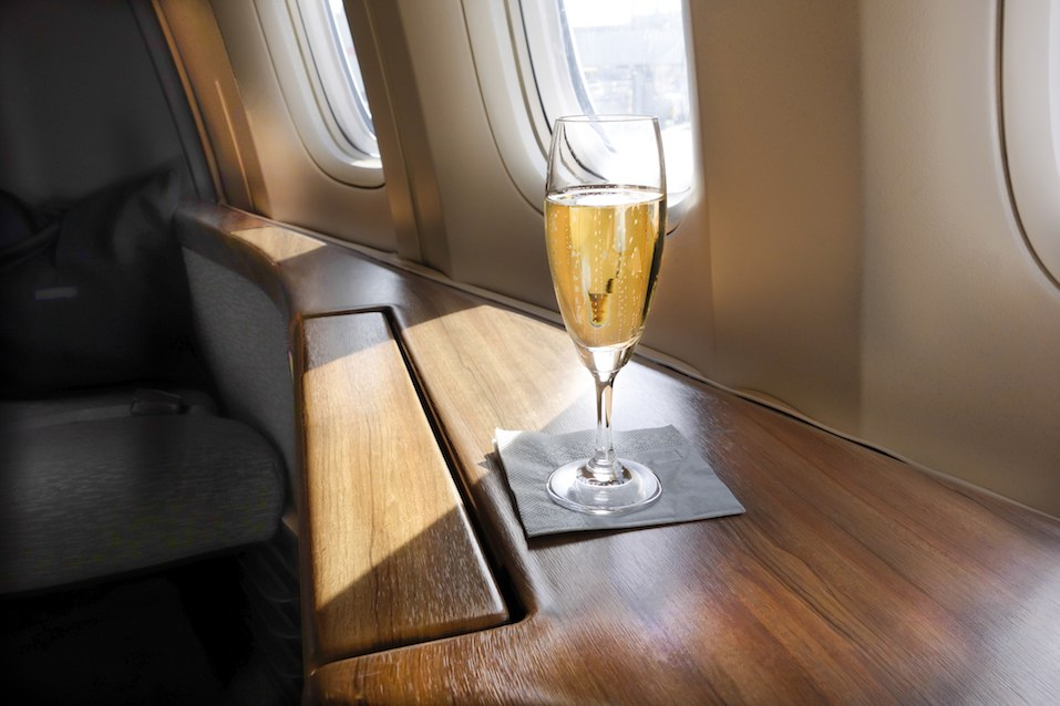 Welcoming Champagne