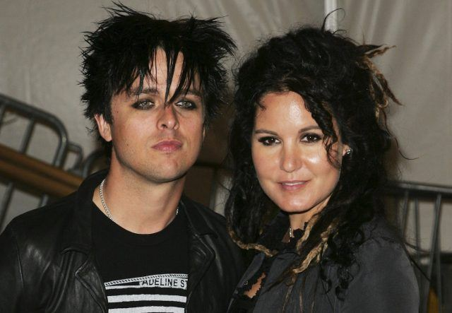 Green Day's Billie Joe Armstrong and wife Adrienne Nesser.
