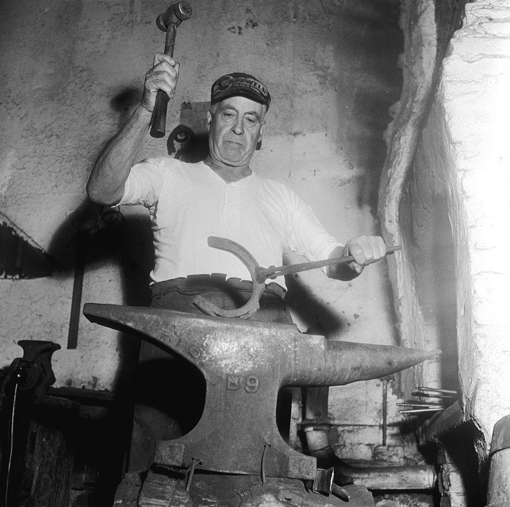 a blacksmith