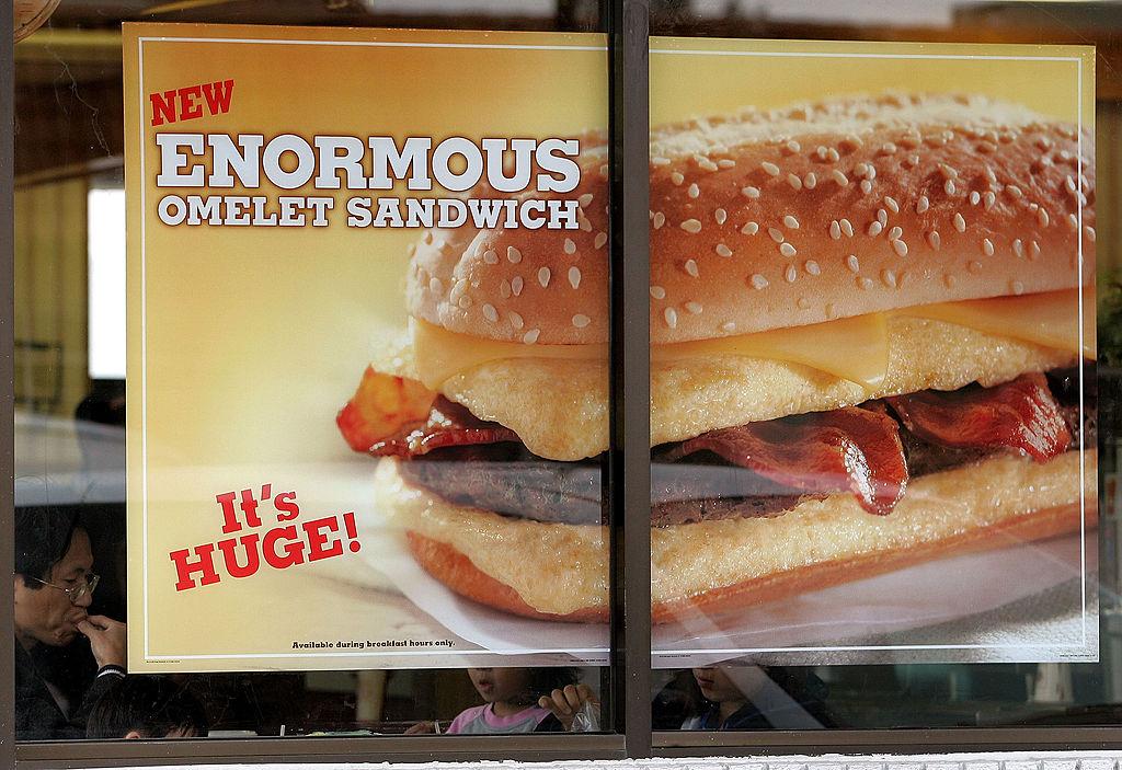 burger king Enormous Omelet Sandwich