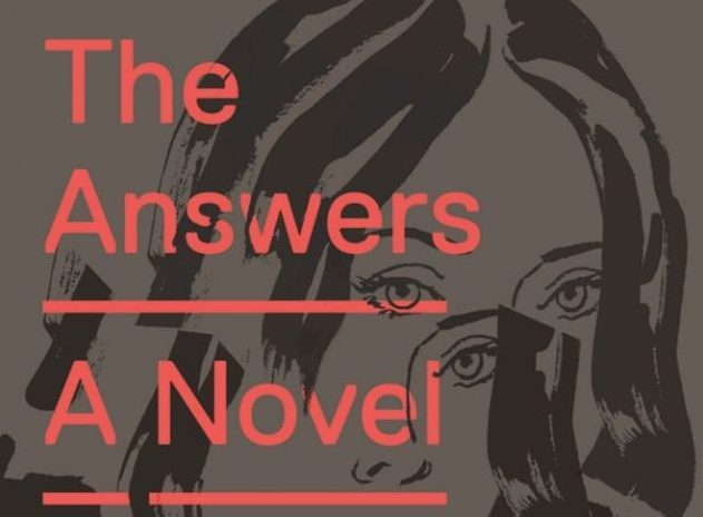 A woman's face is splintered on the cover of The Answers