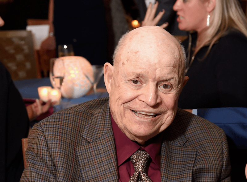 Don Rickles smiles for the cameras