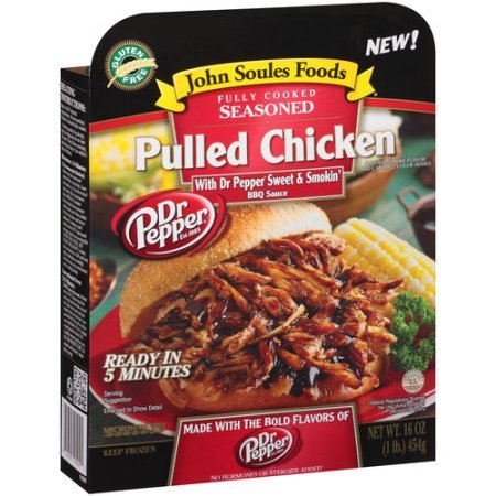 Dr. Pepper-infused pulled chicken