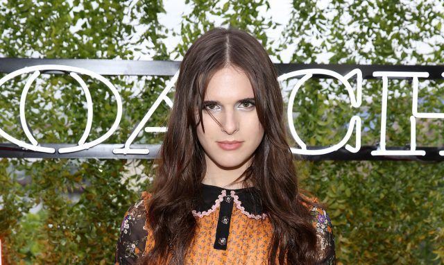 Model Hari Nef at Coach and Friends of the High Line Summer Party.