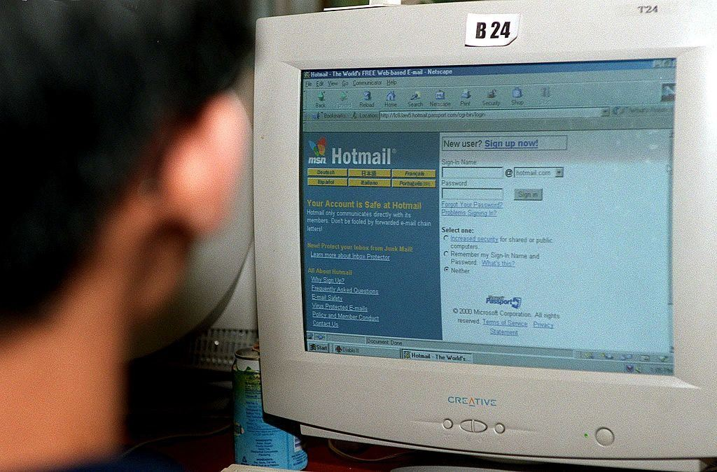 checking hotmail