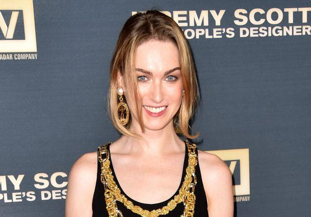 Actress Jamie Clayton at the premiere of The Vladar Company's Jeremy Scott: The People's Designer