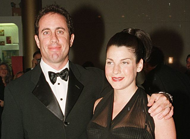 Comedian Jerry Seinfeld and his wife, Jessica Seinfeld.