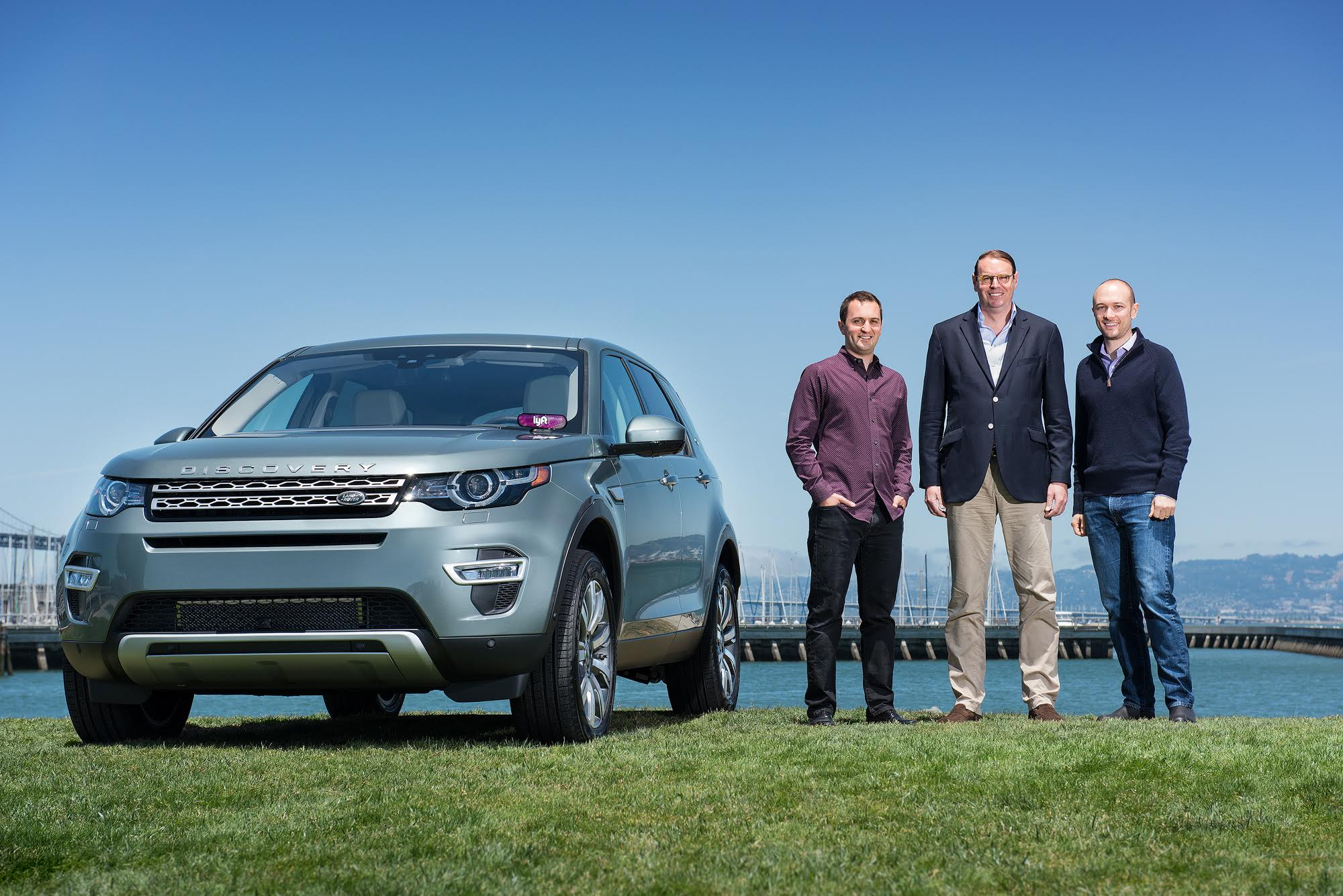 Representatives from Jaguar Land Rover, Lyft, and InMotion