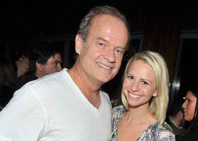 Actor Kelsey Grammer and wife Kayte Walsh at the 'Blue Valentine' premiere.