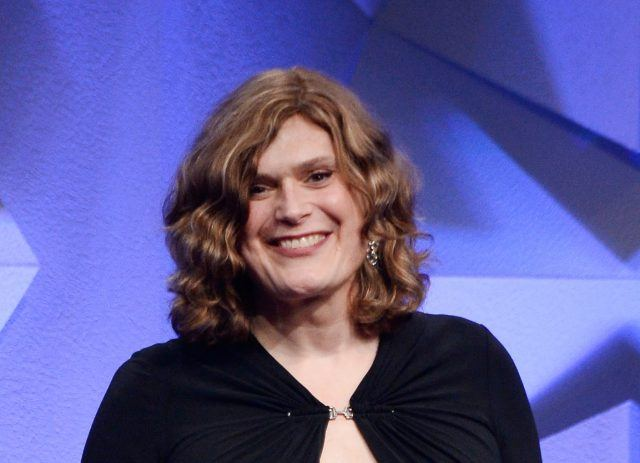 Filmmaker Lily Wachowski at the 27th Annual GLAAD Media Awards.