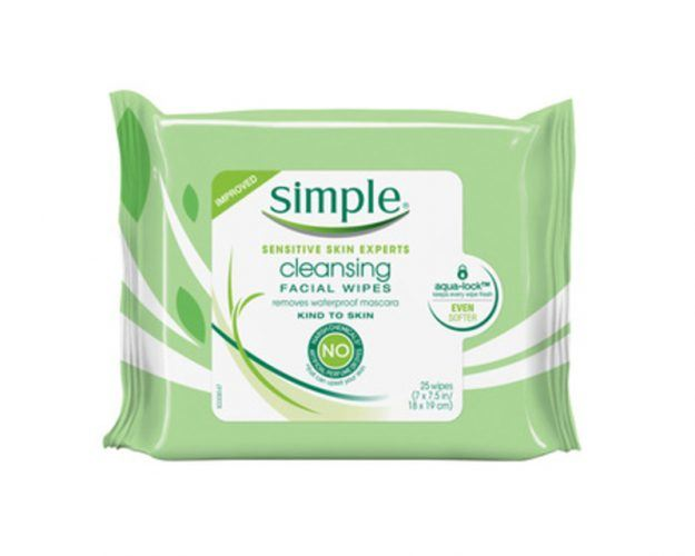 facial wipes from CVS