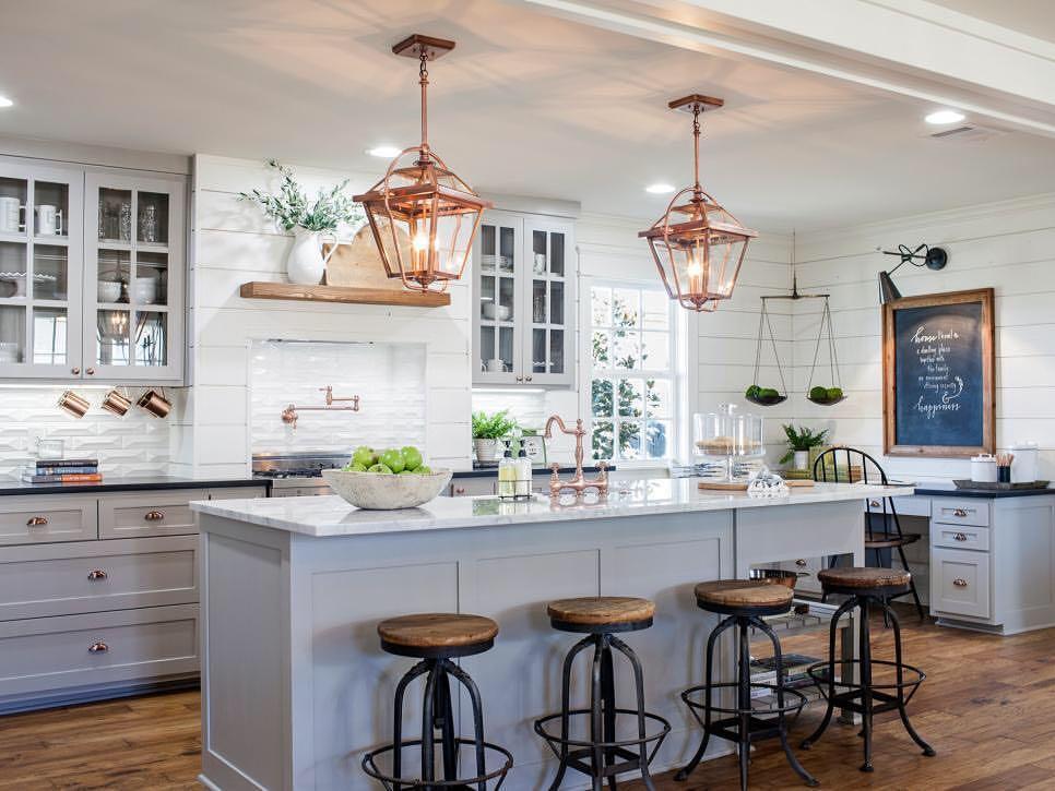 kitchen with white walls