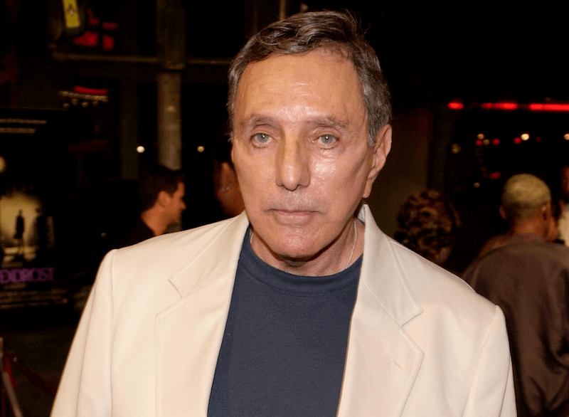 Author/producer William Peter Blatty arrives at the screening of the re-release of the classic thriller 'The Exorcist'