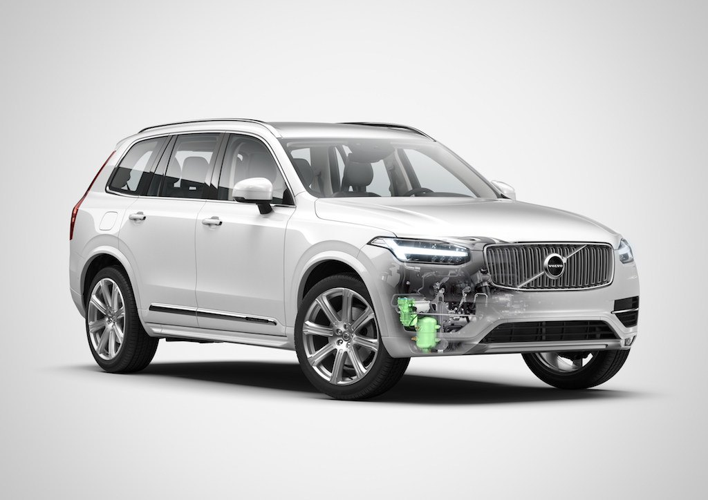 Volvo XC90 with PowerPulse diesel engine
