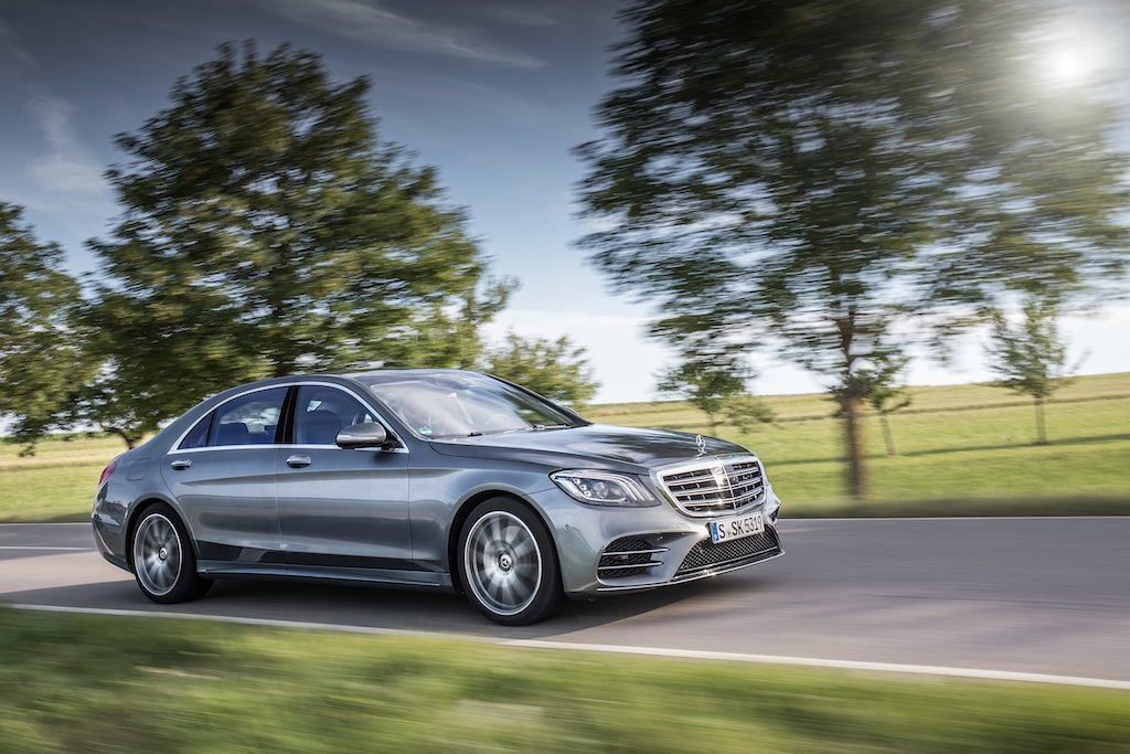 Mercedes-Benz driving