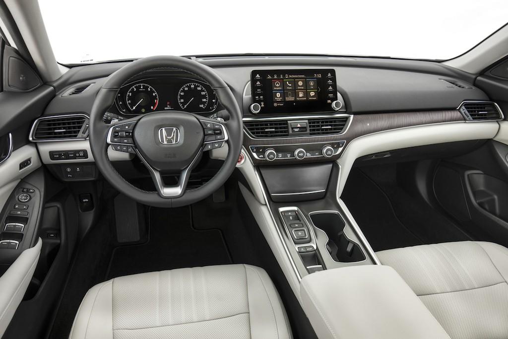 Honda interior
