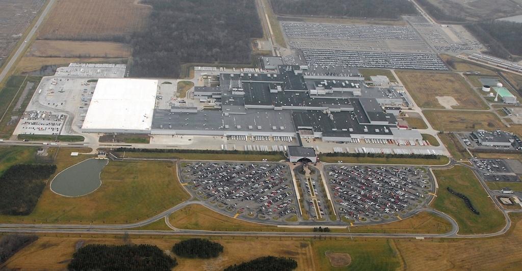 Honda plant
