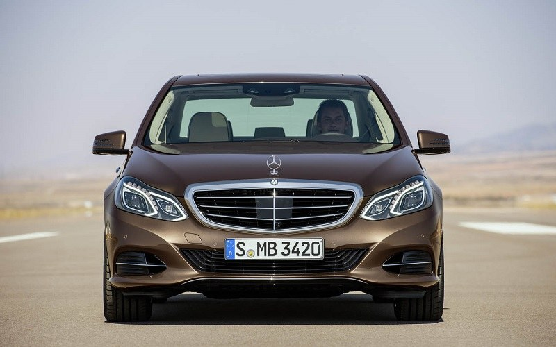 front view of 2014 E-Class sedan