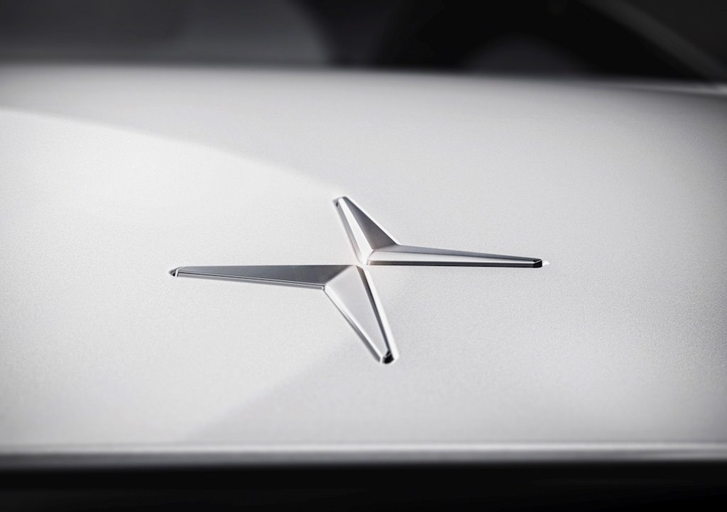 The badge for Polestar