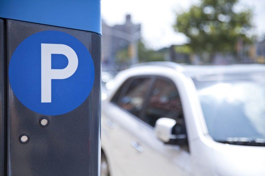 Parking ticket machine in New York City