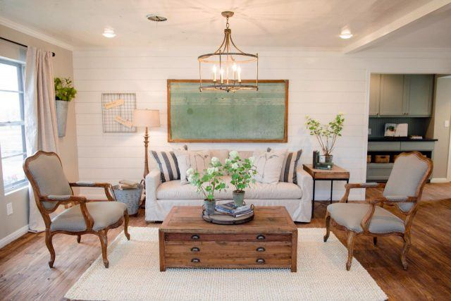 A chalkboard in a house on HGTV's 'Fixer Upper'