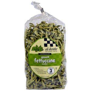 Pasta Alternatives Al Dente Pasta Spinach Fettuccine Noodles