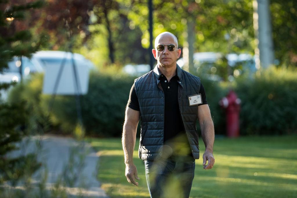 Amazon CEO and Walmart slayer Jeff Bezos