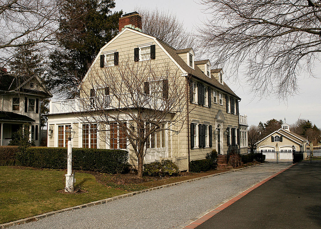 "The ""Amityville Horror"" house, one of many pieces of real estate that have experienced price changes due to superstitions"