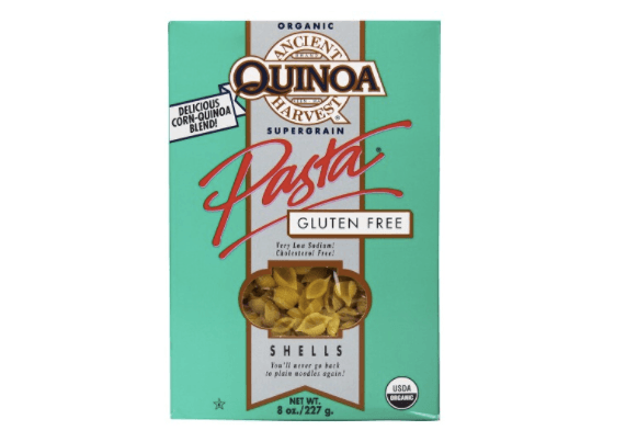 Pasta Alternatives Ancient Harvest Quinoa Supergrain Pasta Shells