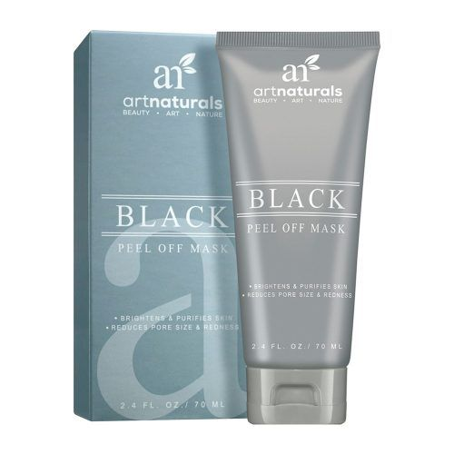 Deep-Cleaning Beauty Products For Flawless Skin Artnaturals Black Peel Off Face Mask