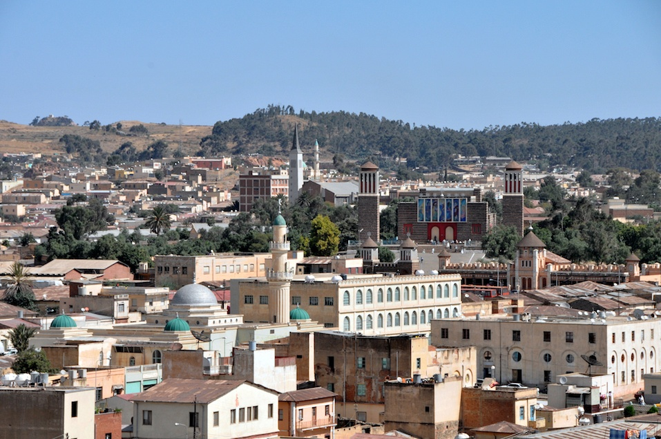 Asmara, capital of Eritrea