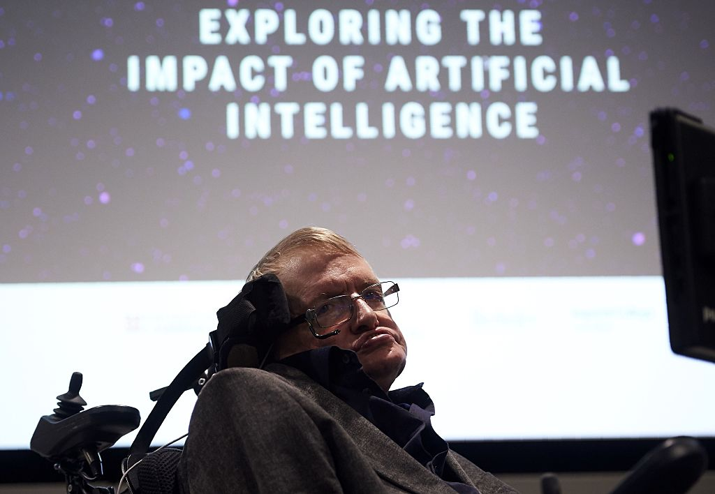 British scientist Stephen Hawking