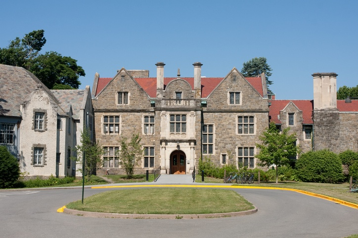 Residence halls on the campus of Bard College