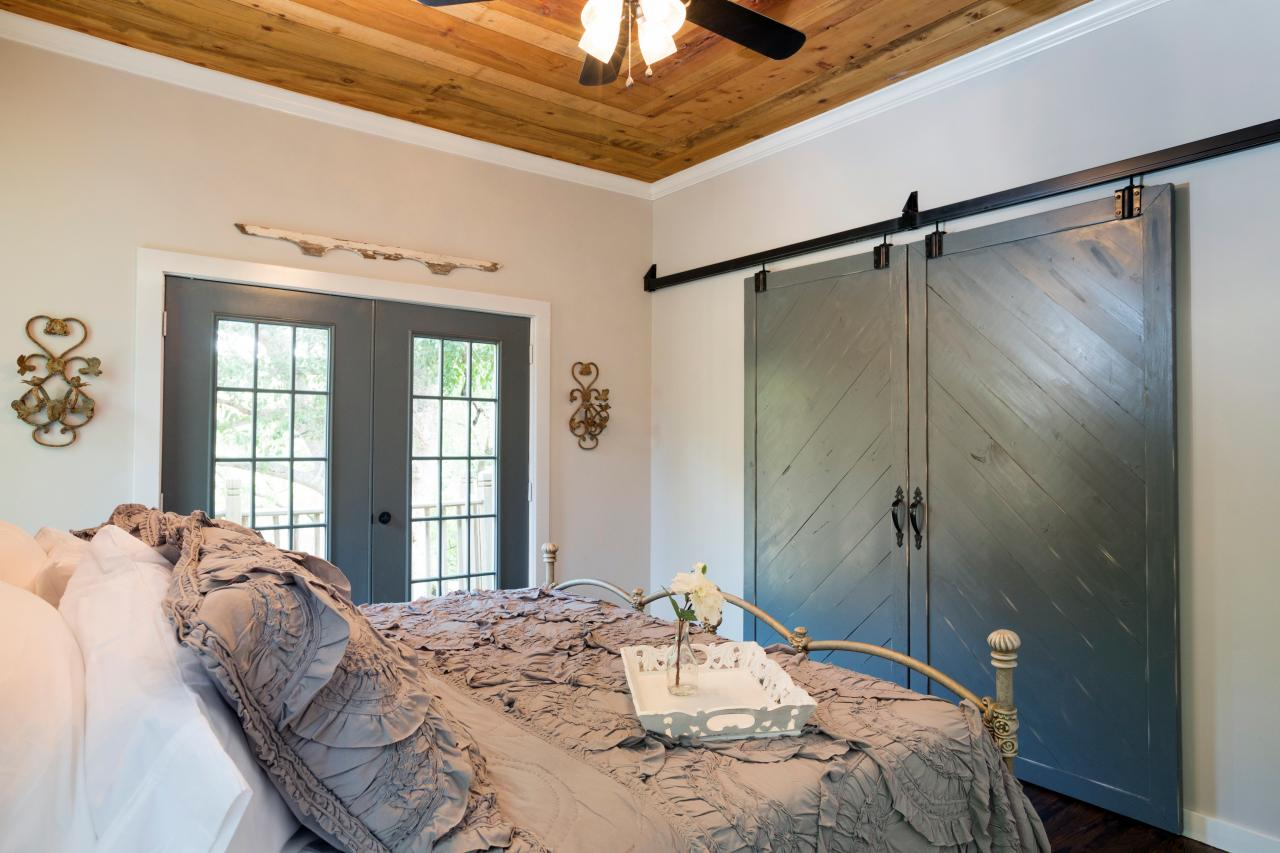 Barn doors in a home on HGTV's 'Fixer Upper'