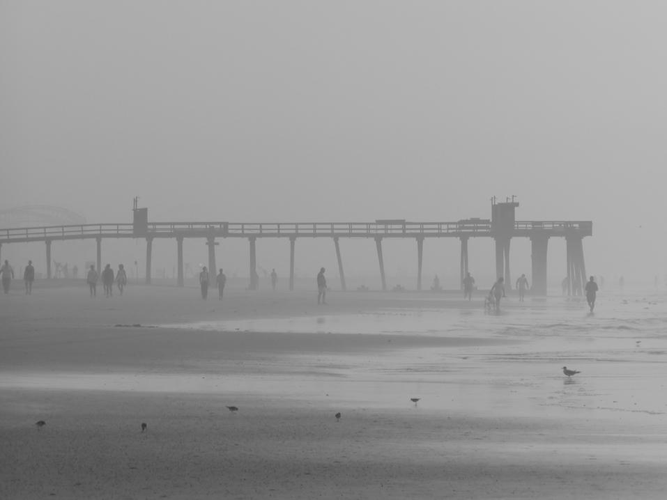Beach Pier in the Fog