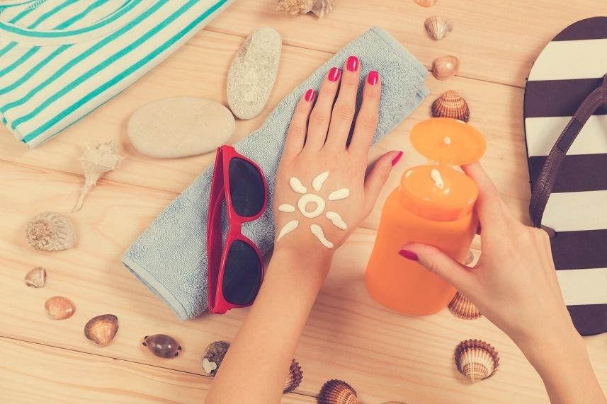 Beach accessories.