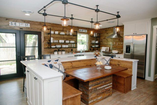 in a home on HGTV's 'Fixer Upper'