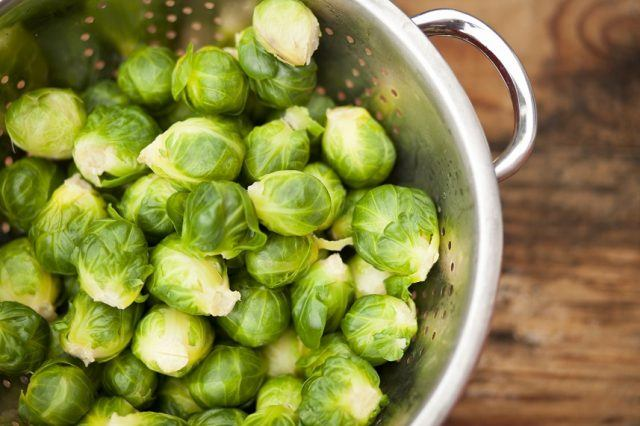 Brussels sprouts are a healthy source of protein.