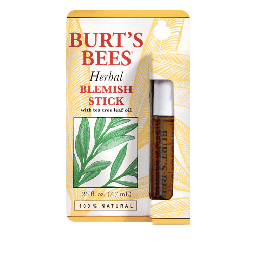 Affordable Drugstore Beauty Products Burt's Bees Herbal Blemish Stick