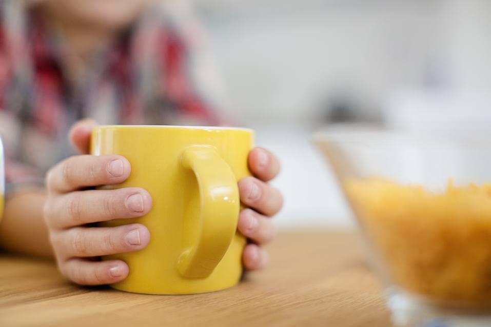 Close up of a mug