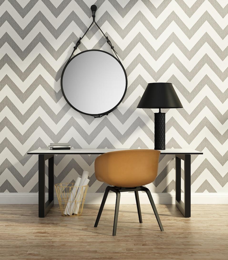 Contemporary elegant home office