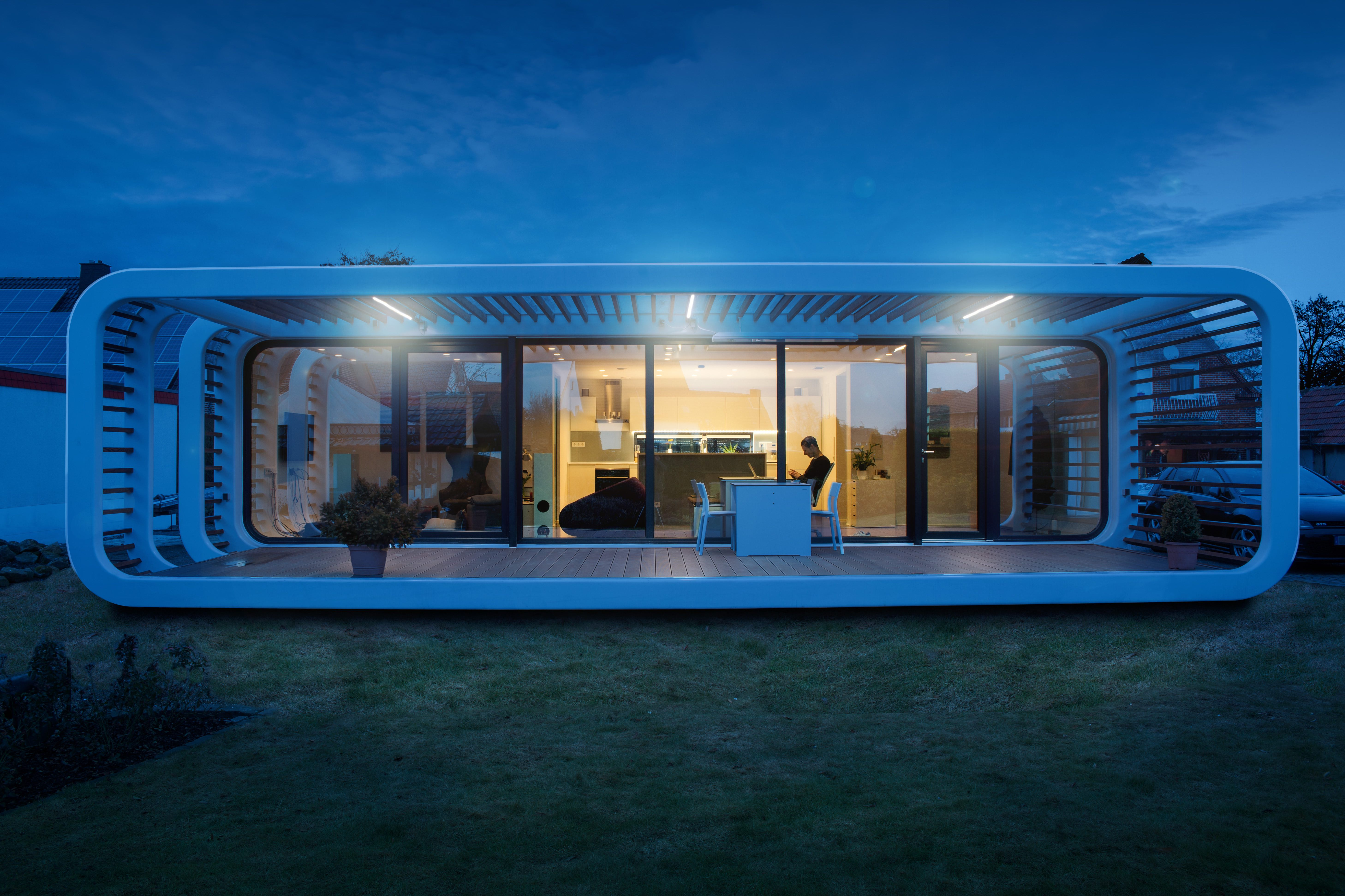 These Stunning Home Tours Will Provide Serious Design ... on cardboard box home designs, container home designs, carriage home designs, train car home designs, rail car dock designs,