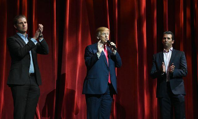 Donald Trump attends The 16th Annual Outdoor Sportsman Awards.