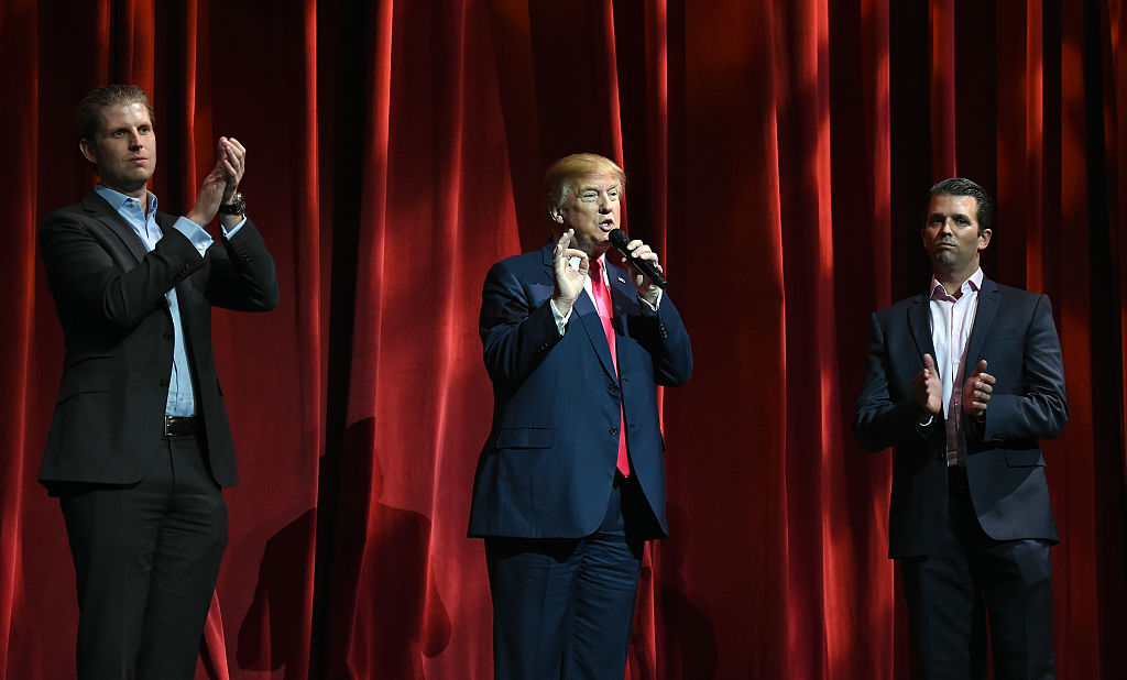 Donald Trump Attends The 16th Annual Outdoor Sportsman Awards