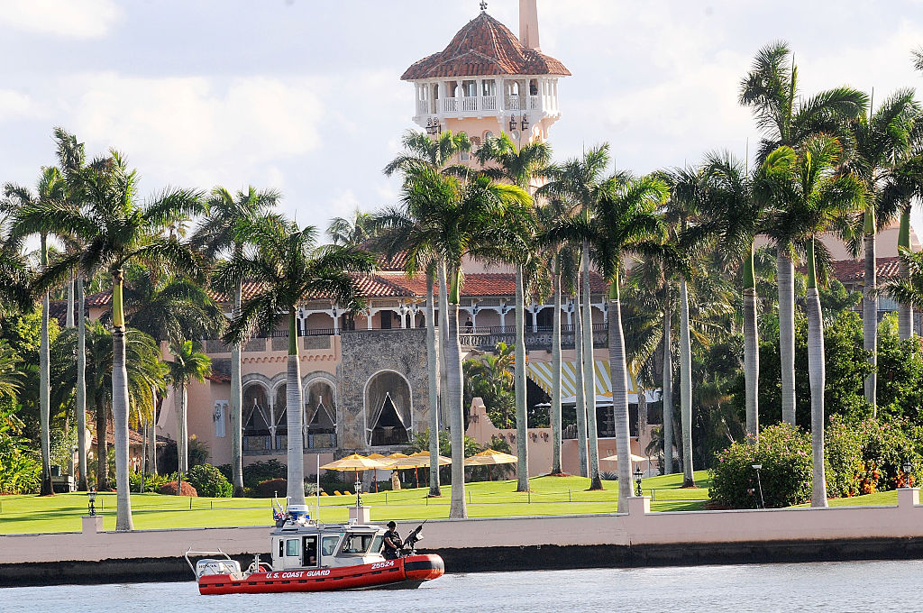 The Mar-A-Lago retreat in Palm Beach, Florida