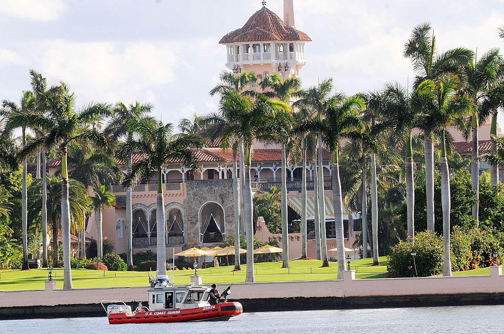 The Mar-A-Lago retreat in Palm Beach, Florida