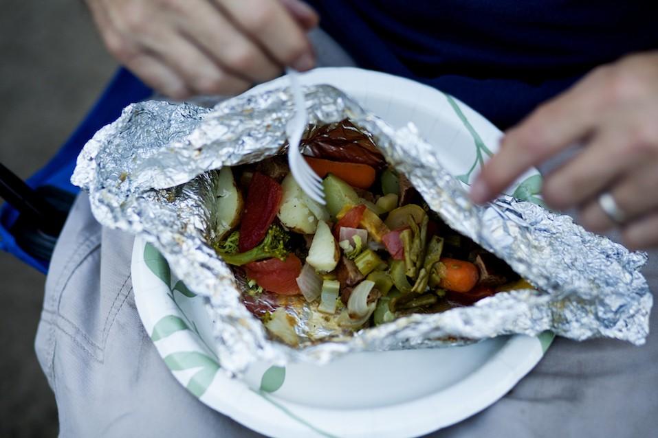 fresh grilled vegetables