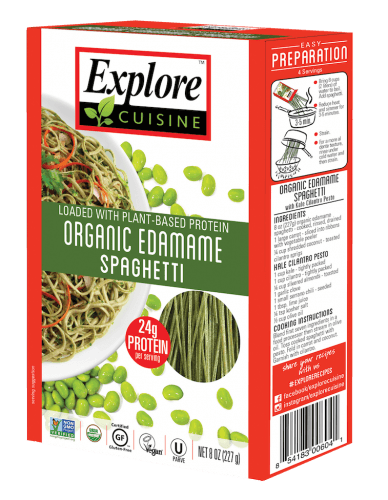 Pasta Alternatives Explore Cuisine Organic Edamame Spahetti