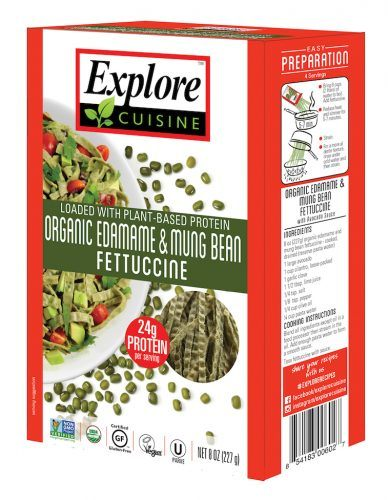 Pasta Alternatives Explore Cuisine Organic Edamame & Mung Bean